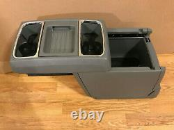 08-15 Dodge Caravan Town And & Country Center Console Unit Gray Mounting Plate