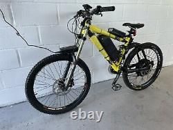 3000w electric Kona Stinky Downhill Mountain Bike Very fast 45MPH+ E Bike