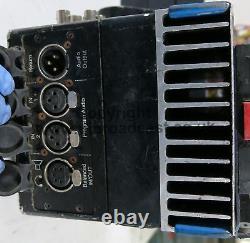 3x Cove broadcast rack mount fibre optic camera units, 1x camera data back