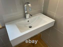 ALAPE 800mm wall mounted basin