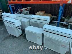 Air Con Fujitsu ASYA09lcc/AOYR24LCC Wall Mounted Air Conditioning Unit White