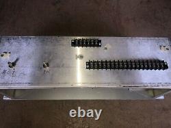 Altec /JBL Rack mount lF HF vu meter unit