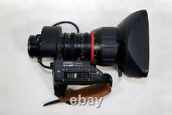 Angenieux T15x8.3B1ESM HR 2/3in. B4 Mount standard zoom lens with 2x extender