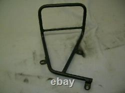 BMW R Nine T Unit Garage Heavyweight Suede Leather Side Bag and Mounting Frame