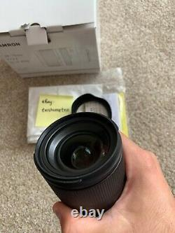 BOXED Tamron 28-75mm Di III f/2.8 Sony E Mount Lens- Pristine Cond- Hardly Used