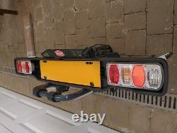 Bike Carrier Witter ZX502 Towball Mounted 2 Bike Carrier Used Once