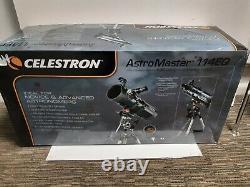 Celestron AstroMaster 114EQ Reflector Telescope 79763/LK