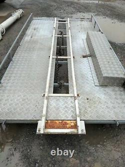Clarke Mast WT26-9-TC Mast Unit and Trolley System for roof mounting telescopic