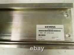 Complete Siemens Simatic S7-300 plc unit mounted on Rack