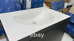 Duravit L Cube C-Bonded Wall-Mounted Drawer Vanity Unit 800mm