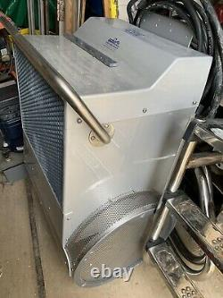 Endless Pool Swim Machine Deck Mount 5hp Fastlane Unit In Silver Acrylic