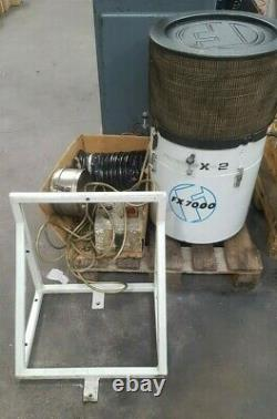 Filtermist FX7000 Oil Mist Extraction Unit with Mounting Bracket