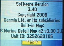 GARMIN GPSMAP 498 COLOR CHART PLOTTER FISH FINDER GPS UNIT w MOUNT & COVER