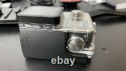 GoPro Hero4 Black Camcorder plus 4 Batteries Twin Charger Mounting Accessories