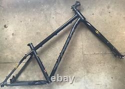 Kona Unit Reynolds Steel Frame N Fork Fat Treck Mountain Bike