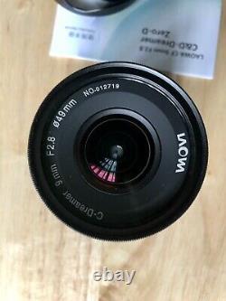 Laowa CF 9mm f2.8 C&D Dreamer Zero-D Lens Fuji X Mount + UV Filter