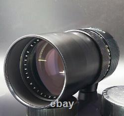 Leica Leitz Wetzlar Elmarit-R f2.8 180mm 1970 R Mount Lens 1 of only 2000 made