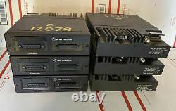 Lot Of 6 Motorola Astro Spectra VHF W5 Remote Mount Drawer Unit IMBE P25 Digital