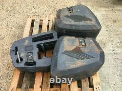 McCormick Tractor 45KG Front Weights x 16 Units C/w Mounting Block Ready To Fit