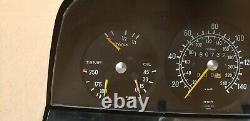 Mercedes w123 280 E CE CPE Speedometer Instrument Gauge Cluster 150MPH 160k