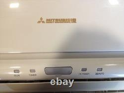 Mitsubishi Air Conditioning / Heating System, 3 Wall Mounted Units, Fully Fitted
