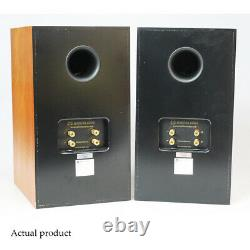 Monitor Audio Speakers Gold Reference 10 GR10 Cherry Stand Mount Bookshelf