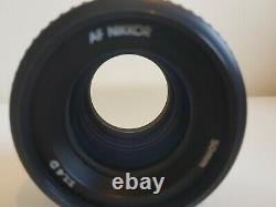 Nikon AF 50mm f/1.4D lens for Nikon F mount
