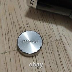Nikon Cine-Nikkor 6.5mm F1.9 Nippon Kogaku Japan D-mount Lens UNTESTED FAULTY