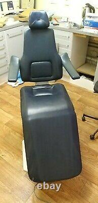 PLANMECA Dental Chair PM 2002 cc FOOT CONTROLS + WALL MOUNTED DELIVERY CART UNIT
