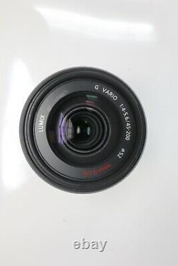 Panasonic Lumix 45-200mm Lens F4-5.6G Vario Mega O. I. S. Stabilised for M43 Mount