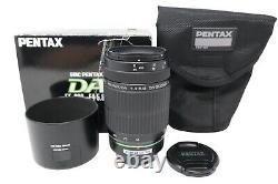 Pentax 55-300mm Telephoto Lens F/4.0-5.8 DA-L SMC, Metal Mount, Very Good Cond