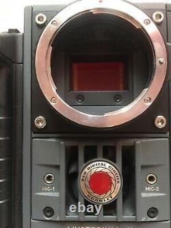 RED SCARLET X CAMERA 5K Cinema Kit Canon & PL Mounts Side Handle XLR A Box