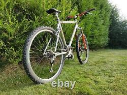 Retro Custom Orange E3 Mountain Bike Build 1994 + Bomber Z1 Forks