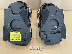 Rome SDS Vice Snowboard Bindings Black LXL good condition, all mountain