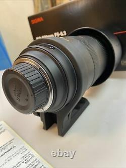 SIGMA DG 150-500mm f/5-6.3 apo dg os hsm CAMERA LENS NIKON AF MOUNT