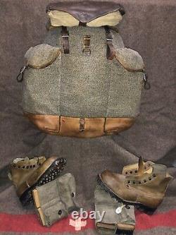 +Schweizerarmee +Rucksack+ Swiss Army Backpack Mountain Unit WW2