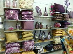 Shop Retail Wall Mounted 1mtr Wide Bay 4 x Shelf Bay Shelving System Display UK