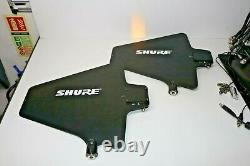 Shure UA844 Antenna Distribution Rack Mount Unit compete system with all cables