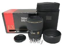 Sigma 105mm f/2.8 Lens EX Macro, Close-Up, for Sony A-Mount, Excellent Condition