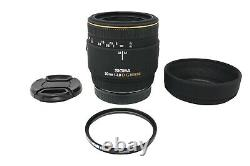 Sigma 50mm Macro Lens f/2.8 DG, Fixed, Sharp for Sony A-Mount. Very Good Cond