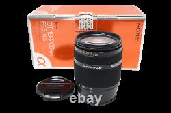 Sony 18-200mm All-Around Lens f/3.5-6.3, SAL18200, For Sony A-Mount, Exc. Cond