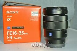 Sony FE16-35mm F4 ZA OSS Sony E Mount Lens (SEL1625Z)