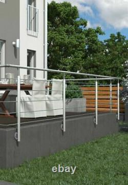 Stainless Steel Handrail System 1.5m For Indoor Or Outdoor Use