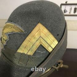 Super rare ww2 Italian army Alpini mountain unit Major Alpini hat real 1111