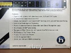 TC Helicon Voiceworks rack mounted vocal harmoniser, correction, effects unit