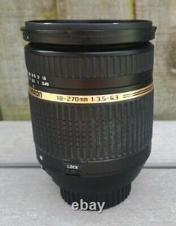 Tamron AF 18-270mm f/3.5-6.3 Di II vc Aspherical Macro, Nikon F mount