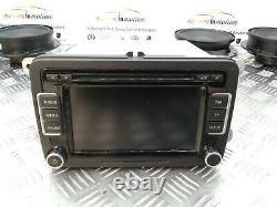 VOLKSWAGEN SCIROCCO Mk3 1K8 Dynaudio Speaker System Inc Amp / Head Unit