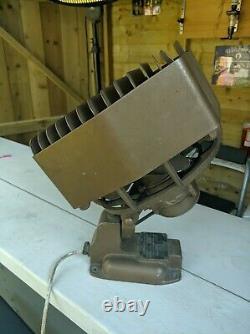 Vintage Industrial GEC 3KW Wall Mounted Unit Heater/Fan