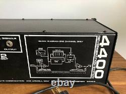 Vintage TAPCO 4400 Spring Reverb Reverberation System Rack Mount Unit