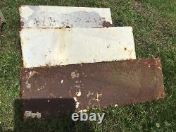 Vintage Wall Mounted Shelving single Industrial Metal Shelf Storage Holder X 7